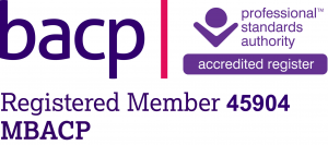 BACP Registered Member MBACP 45904